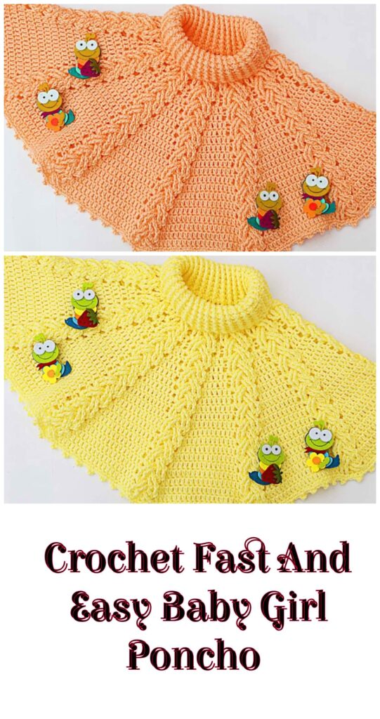 This image has an empty alt attribute; its file name is Crochet-Fast-And-Easy-Baby-Girl-Poncho-541x1024.jpg